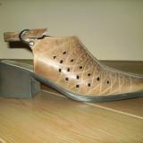 Pantofi dama, Marime: 37.5, Bronz - Pantofi nicolis
