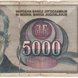 Bancnota Straine - Bancnota Iugoslavia