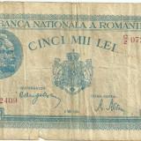 Bancnota 5000 lei - 2 mai 1944