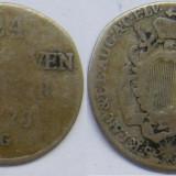 Moneda Medievala - Augsburg 1/24 thaler 1773 G