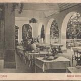 B14971 Baile Lipova Terasa Restaurantului   necirculata