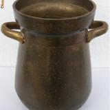 Cana mare din bronz masiv - Metal/Fonta