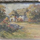 Tablou - D. SZILAGHYI - PICTURA ULEI PE PANZA - MANIERA POSTIMPRESIONISTA