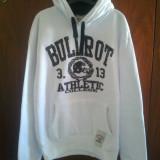 Hanorac Bullrot Wear Athletic College Alb-Negru pret vechi 150 lei, pret nou 120 lei - Hanorac barbati, Marime: XL