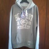 Hanorac Bullrot Wear Athletic College Gri/Alb pret vechi 150 lei, pret nou 120 lei - Hanorac barbati, Marime: XXL, Bumbac