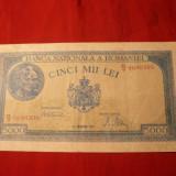 Bancnota 5000 Lei 20 dec. 1945, Mihai I, cal.Buna