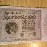 Bancnota Straine - BB - GERMANIA - 1923