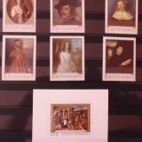 Timbre filatelice de colectie nestampilate Romania, Reproduceri de arta II, 1969, LP 709 si LP 710 - Timbre Romania