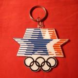 Breloc -Olimpiada Los Angeles -Stema Competitiei
