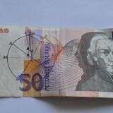 Bancnota Straine - Bancnota 50 tolar Slovenia 1992