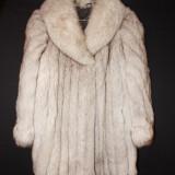 Haina Vintage de vulpe-trei sferturi/Saga Fox, NR.46, Camel, Blana