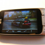 LG Optimus one p500 Android 2.3.3 - Telefon mobil LG Optimus One, Argintiu, Touchscreen, Android OS, 320x480 pixeli (HVGA), 256K