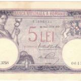 * Bancnota 5 lei 1928