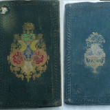 Carte Editie princeps - Contesa Drohojowska, Trei mai epoci istorice dupa o legenda din secolul X, lucrare de secol 19, legatura deosebita