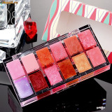 Trusa Machiaj Make-up Profesionala 12 Rujuri Culori Nuante Fraulein38 - Trusa make up