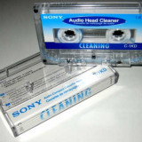 SONY audio head cleaner - Casetofon