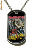 IRON MAIDEN - MEDALION (DOG TAG)