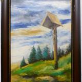 Troita - semnat S.Chintila - Pictor roman