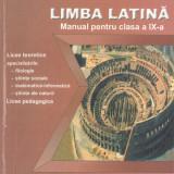 Frisan, C. - LIMBA LATINA - MANUAL PENTRU CLASA A IX-A (ANUL II DE STUDIU) - Manual scolar, Clasa 9, Alte materii