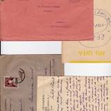 Plic Papetarie - PLIC DR OCT CRISMARU TIMISOARA 1929 INC CORESP. SI PLIC CATRE DR C.SZTURA BUZIAS 1935 CATRE RECAS DR, GHE OPREA.-OCPP 32