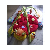 Salteluta cu activitati Mamms and Papas Lotty Ladybird