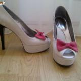 PANTOFI CU PLATFORMA - Pantofi dama, Marime: 36
