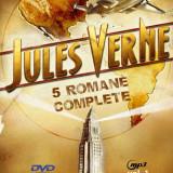 Carte de povesti - Jules Verne - 5 romane pe un DVD MP3