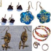 Cercei fashion art modele deosebite unicate cercei piercing, handmade, diverse modele, din argint bronz antic pietre semipretioase Preturi foarte mici foto