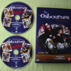 OZZY OSBOURNE - The Osbournes The First Season - 2 DVD - Film documentare, Engleza