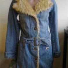 Super haina de iarna cu blana, Lee Cooper - Palton dama