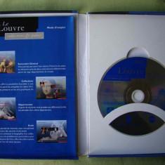 MUZEUL LUVRU - CD-ROM PC Original - Carcasa DVD