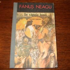 Fanus Neagu - In vapaia lunii - Carte de aventura