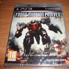 Joc Front Mission Evolved, PS3, original si sigilat, 49.99 lei(gamestore)! - Jocuri PS3 Square Enix, Shooting, 16+, Single player