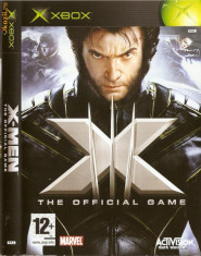 Jocuri Xbox Activision, Actiune, 12+, Single player - JOC XBOX clasic X-MEN THE OFFICIAL GAME ORIGINAL PAL / STOC REAL / by DARK WADDER