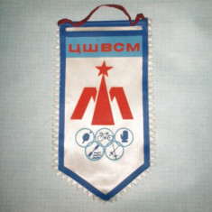 429 Fanion tenis, ciclism, canotaj, etc(Moldova? -perioada URSS?)