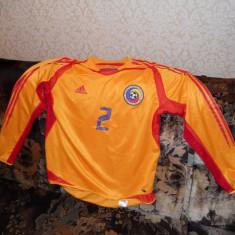 Tricou barbati Adams, L, Maneca scurta, Bronz - Tricou Romania(echipa nationala) original