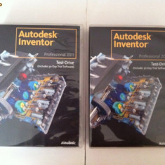 AUTODESK INVENTOR Professional 2011 TRIAL + Test Drive - Software Grafica, Modele 3D, DVD