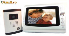 Vand Interfon video color model PNI-DF-926 cu display 7