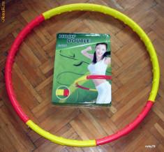 Cerc gimnastica Hula Hoop Double