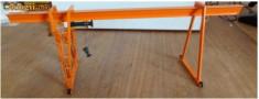 Macheta Feroviara - Macara TT Metal Suspendata - Locomotiva Vagon -- Raritate