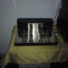 Amplificator audio, 81-120W - Amplificator cu tuburi electronice lampi velleman k4000