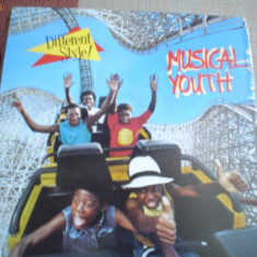 Musical youth different style vinyl reggae pop funk lp - Muzica R&B, VINIL