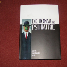 DICTIONAR DE PSIHIATRIE si PSIHOPATOLOGIE CLINICA - JACQUES POSTEL - Carte Psihologie