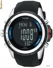 Ceas Barbatesc Pulsar, Sport, Electronic, Cauciuc - Pulsar PS7001 ceas barbati nou, la cutie! 100% original Oferta si comenzi ceasuri SUA