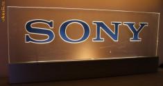Iluminat decorativ - Reclama, firma luminoasa Sony