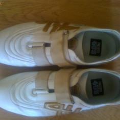 Adidasi barbati, 38 2/3, Alb - Pantofi Sport Cesare Paciotti Originali 100% PIELE