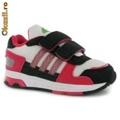 Adidasi copii, Fete - Lichidare de stoc!!!Adidas Streetrun CF roz, negru si alb-mar 23