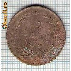 Monede Romania - 109 Moneda 5 BANI 1867 HEATON -starea care se vede -ceva mai buna decat scanarea