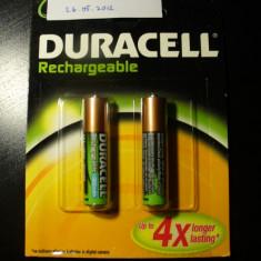 Duracell 2x bateri reincarcabile - Baterie Aparat foto Duracell, Tip AA (R6)