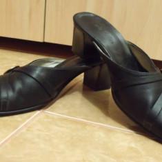 Oferta!!! Pantofi dama piele naturala italia marca Carla Sellini masura 38!! - Saboti dama, Negru